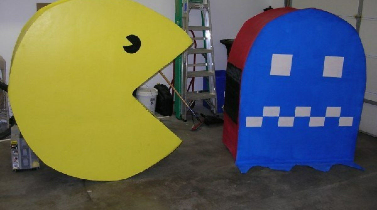 Image result for chomping pac man costume