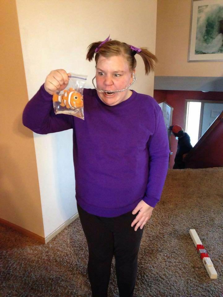 Image result for darla finding nemo halloween costume