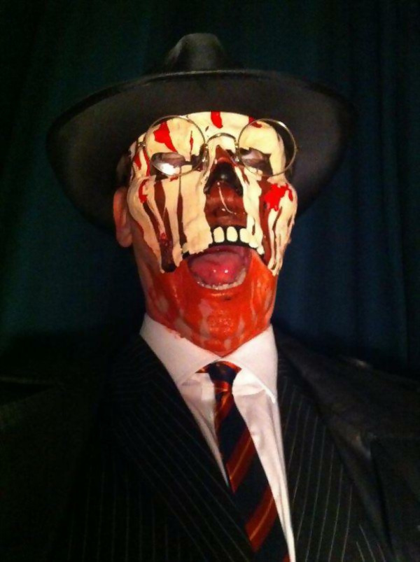 Image result for raiders of the lost ark melt face