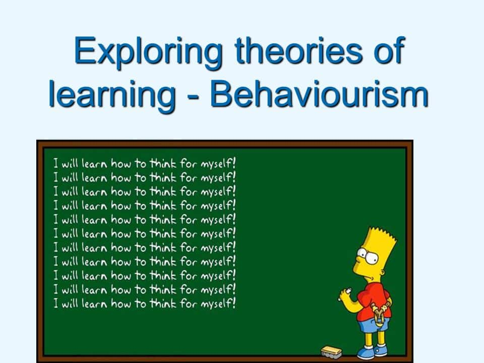 Exploring theories of learning - Behaviourism - ppt download